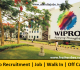 Wipro Recruitment 2018 – Job   Off Campus   Walk-in   Process   Apply Now