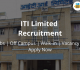 ITI Limited Recruitment 2018-19 Jobs Vacancy Online Form