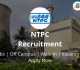 NTPC Recruitment 2018-19 Jobs Vacancy Online Form @ntpccareers.net