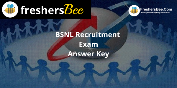 BSNL Answer Key