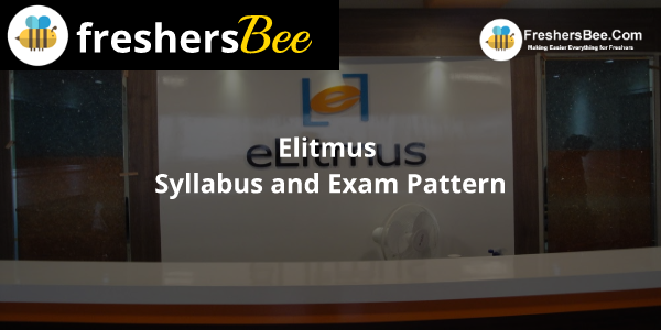 Elitmus Syllabus and Exam Pattern