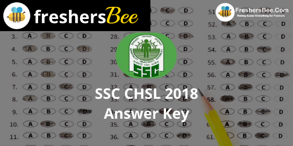 SSC CHSL Answer Key 2018 Released download @ssc.nic.in