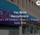 Yes Bank Recruitment 2018-19 Jobs | Off Campus | Walk-in | Process | Apply Now