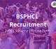 BSPHCL Recruitment 2018 Vacancy Jobs Online Form