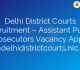 Delhi District Courts Recruitment – Assistant Public Prosecutors Vacancy Apply @delhidistrictcourts.nic.in